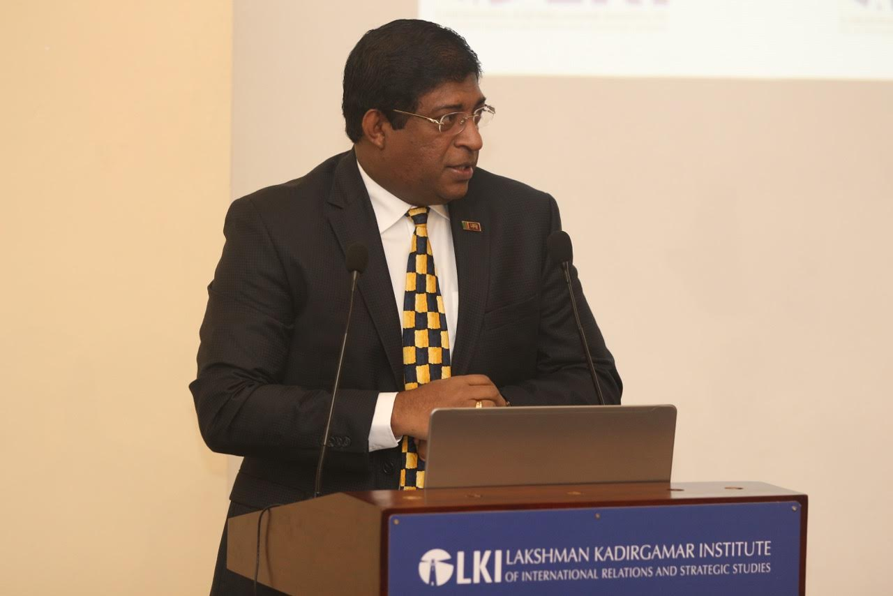 Srilanka Foreign Minister Speech on Emerging Issues in the Indian