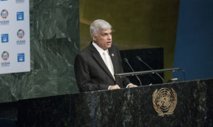 Address by Prime Minister Ranil Wickremesinghe to UN Conference to Support the Implementation of Sustainable Development Goal 14