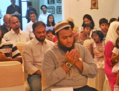 Sri Lankans Join in The Observance of  Ifthar in Jakarta.