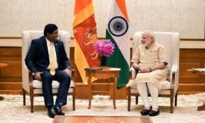 Foreign Minister Ravi Karunanayake's First  Visit to India