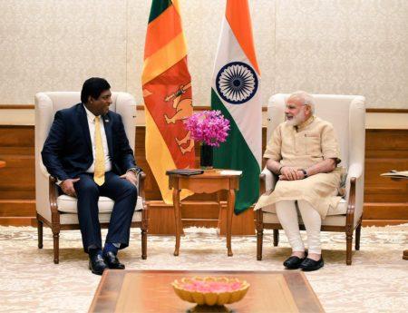 Foreign Minister Ravi Karunanayake's First  Visit to India