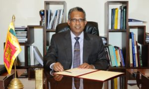 Prasad Kariyawasam , New Secretary to the Ministry of Foreign Affairs