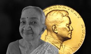 Ramon Magsaysay Award 2017 For  Mrs. Gethsie Shanmugam