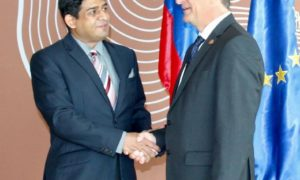 Sri Lanka Committed in Revitalizing Its Bilateral Relations With Slovenia