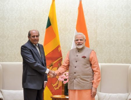 Foreign Minister Meets Indian PM