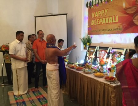 Sri Lankan Community Celebrates Deepawali in Indonesia