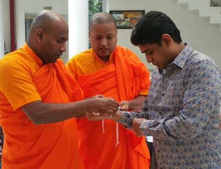 State Minister  Vasantha Senanayake Visited New Delhi