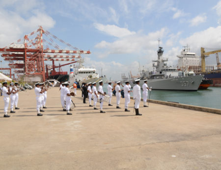 Indonesian Naval Ship Arrives in Sri Lanka On A Goodwill Mission