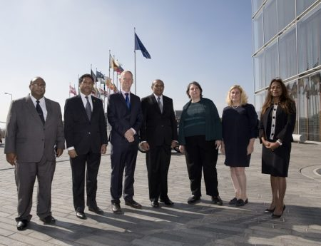 Foreign Minister Tilak Marapana Visited  T European Investment Bank in Luxembourg