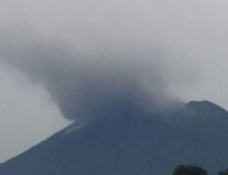 Eruption of Mountain Agung-Emergency Situation