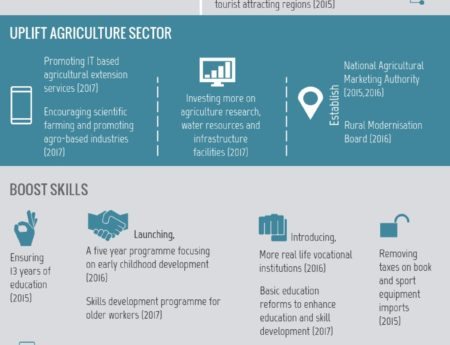 Infographic : Economic Strategy For Sri Lanka