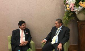 State FM Meet With Brunei Darussalam Deputy FM in Jakarta