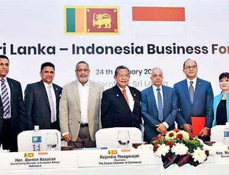 Indonesian Minister Calls for Initial Talks for FTA with Sri Lanka