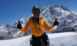 Johann Peiris Summited Mount Everest