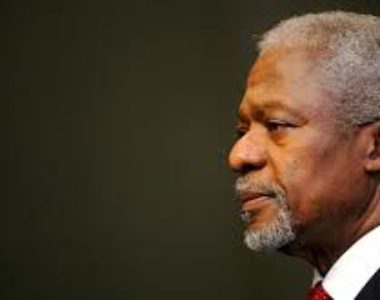 Messages of Condolence by  Hon. Prime Minister on the passing away of former UN Sec.Gen Kofi Annan