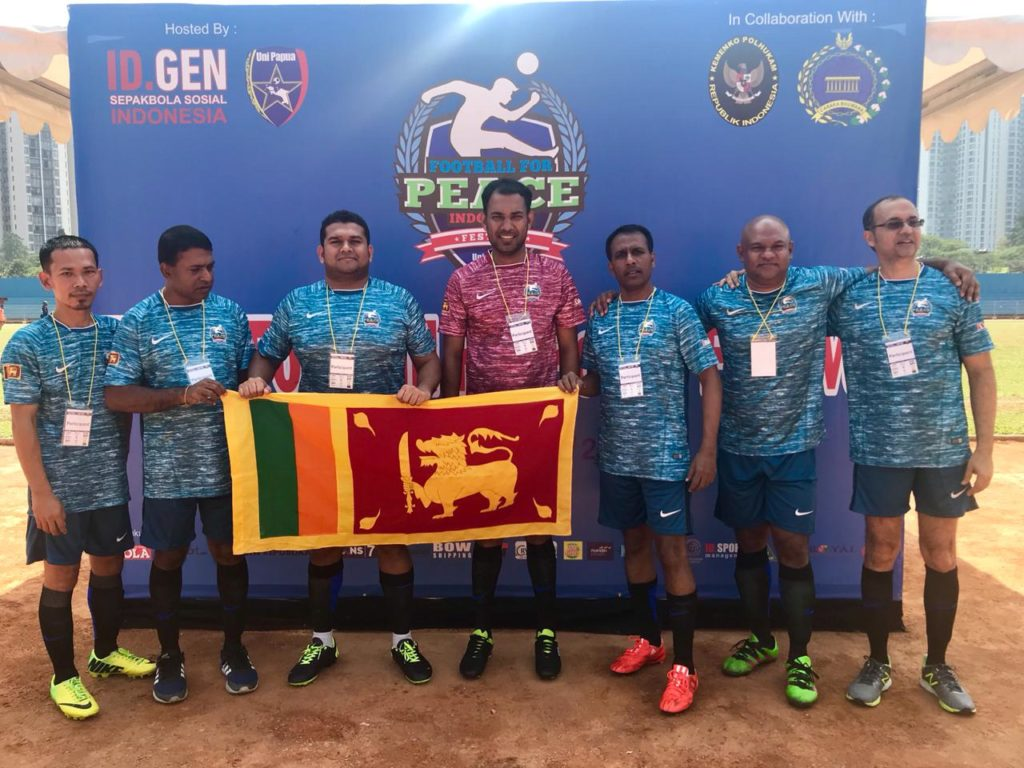 Sri Lankans Join Football For Peace Initiative In Jakarta
