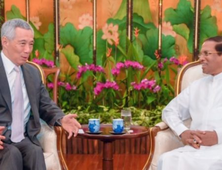 President Sirisena Concludes a Successful Visit to Singapore