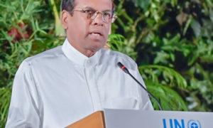 Statement by President  Maithripala Sirisena at  UNEA