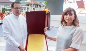 Proposal For Theravada Tripitaka as a World Heritage Officially Handed Over
