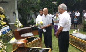 Sri Lankans in Indonesia Joined For Unity Prayers
