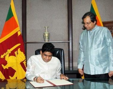 State Minister Of Foreign Affairs Vasantha Senanayake Assumes Duties