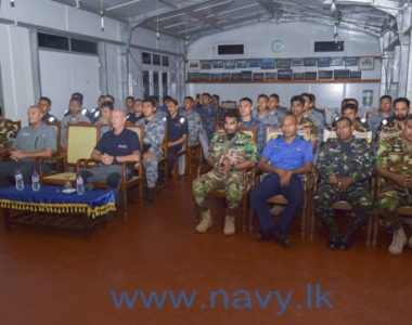 Sri Lanka Navy Conducts VBSS Course For Overseas Coast Guard Personnel