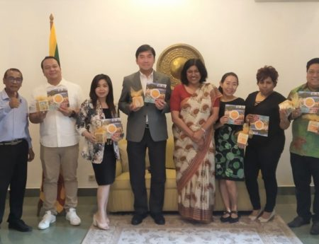 Sri Lanka Ambassador Meets With Top Tour Operators That Visited Sri Lanka On A Fam Tour