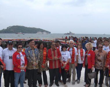 SRI LANKA AMBASSADOR VISITS NIAS ISLAND