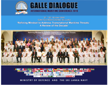 Galle Dialogue  2019  On High Note