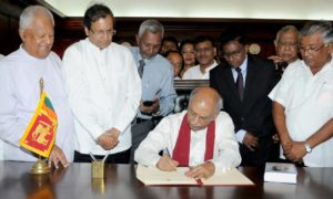 Foreign Minister Dinesh Gunawardena Assumed Duties