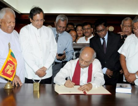 Foreign Minister Dinesh Gunawardena Assumed Duties