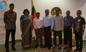 Sri Lankan Embassy and Sri Lankan Business Community in Indonesia Commences Quarterly Consultation