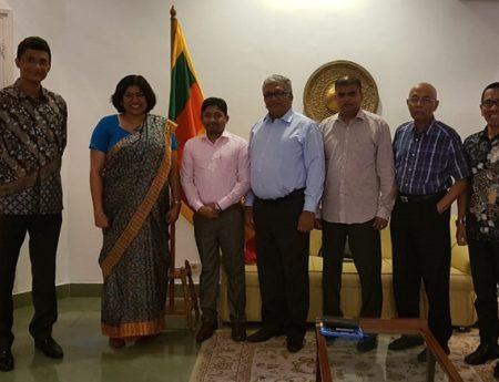 Sri Lankan Embassy and Sri Lankan Business Community in Indonesia Commences Quarterly Consultation