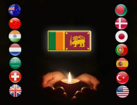 SRI LANKA EXPRESSES SOLIDARITY WITH FAMILIES OF FOREIGN NATIONALS ON THE DEVASTATING LOSS OF LOVED ONES