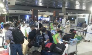 Repatriation of Group of Sri Lankans stranded in Indonesia due to COVID-19