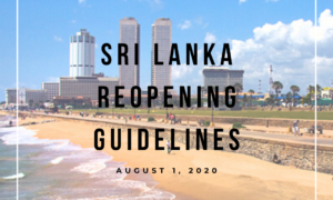 Sri Lanka Reopening Guidelines