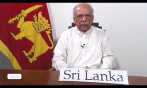 Foreign Minister outlines Sri Lanka's Digital Responses to COVID -19