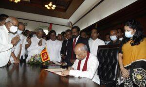 Foreign Minister Dinesh Gunawardena assumes duties