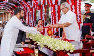 Hon. Tharaka Balasuriya sworn in as State Minister of Regional Cooperation