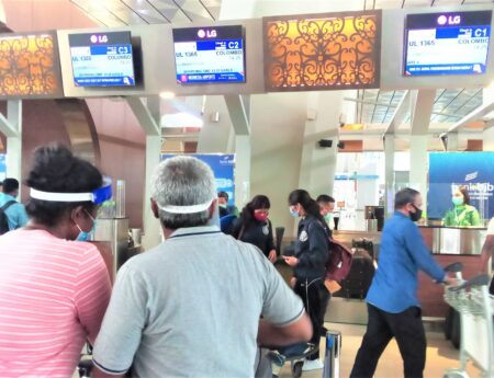 109 Sri Lankans Successfully Repatriated from Indonesia