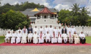New Cabinet Ministers sworn in before H.E. the President