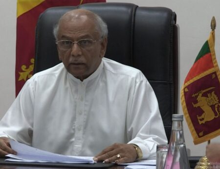 Foreign Minister Dinesh Gunawardena leads the Sri Lanka delegation to the informal meeting of SAARC Council of Ministers