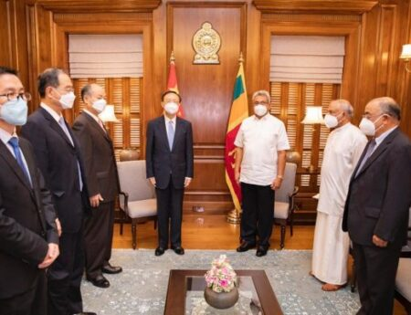 Sri Lanka and China discuss economic revival and COVID-19 assistance