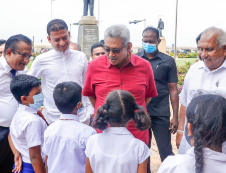 President joins World Children's Day celebrations; encourages children to pursue wisdom in books
