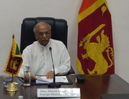 SRI LANKA'S FOREIGN MINISTER CALLS FOR ADVANCING E-COMMERCE AND E-GOVERNANCE IN COMMONWEALTH STATES IN THE COVID-19 CONTEXT