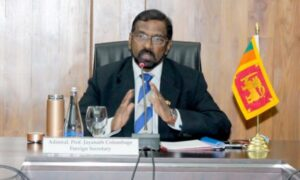 SRI LANKA AND CHINA DISCUSS CONSOLIDATING BILATERAL RELATIONS AT THE 11TH SESSION OF THE DIPLOMATIC CONSULTATIONS