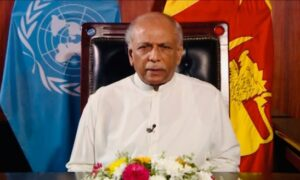 FOREIGN MINISTER DINESH GUNAWARDENA UNDERSCORES THE IMPORTANCE OF ADEQUATE FUNDING FOR DEVELOPMENT INITIATIVES ENABLING DEVELOPING COUNTRIES TO OVERCOME THE MULTIFACETED CHALLENGES HINDERING THE ACHIEVEMENT OF SDGS