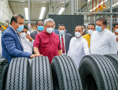 South and Southeast Asia's largest tyre manufacturing factory declared open