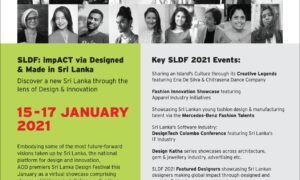 The Sri Lanka Design Festival (SLDF) 2021