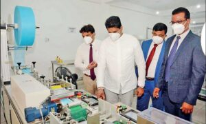 Sensetronics opens SL's first accredited masks manufacturing plant